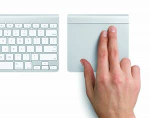 apple trackpad keyboard combo